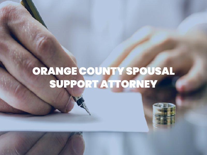 Orange county spousal support lawyer Boyd Law OC
