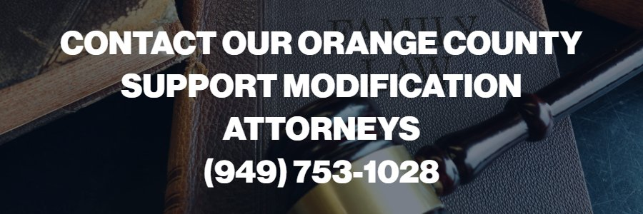Orange County support modification lawyers